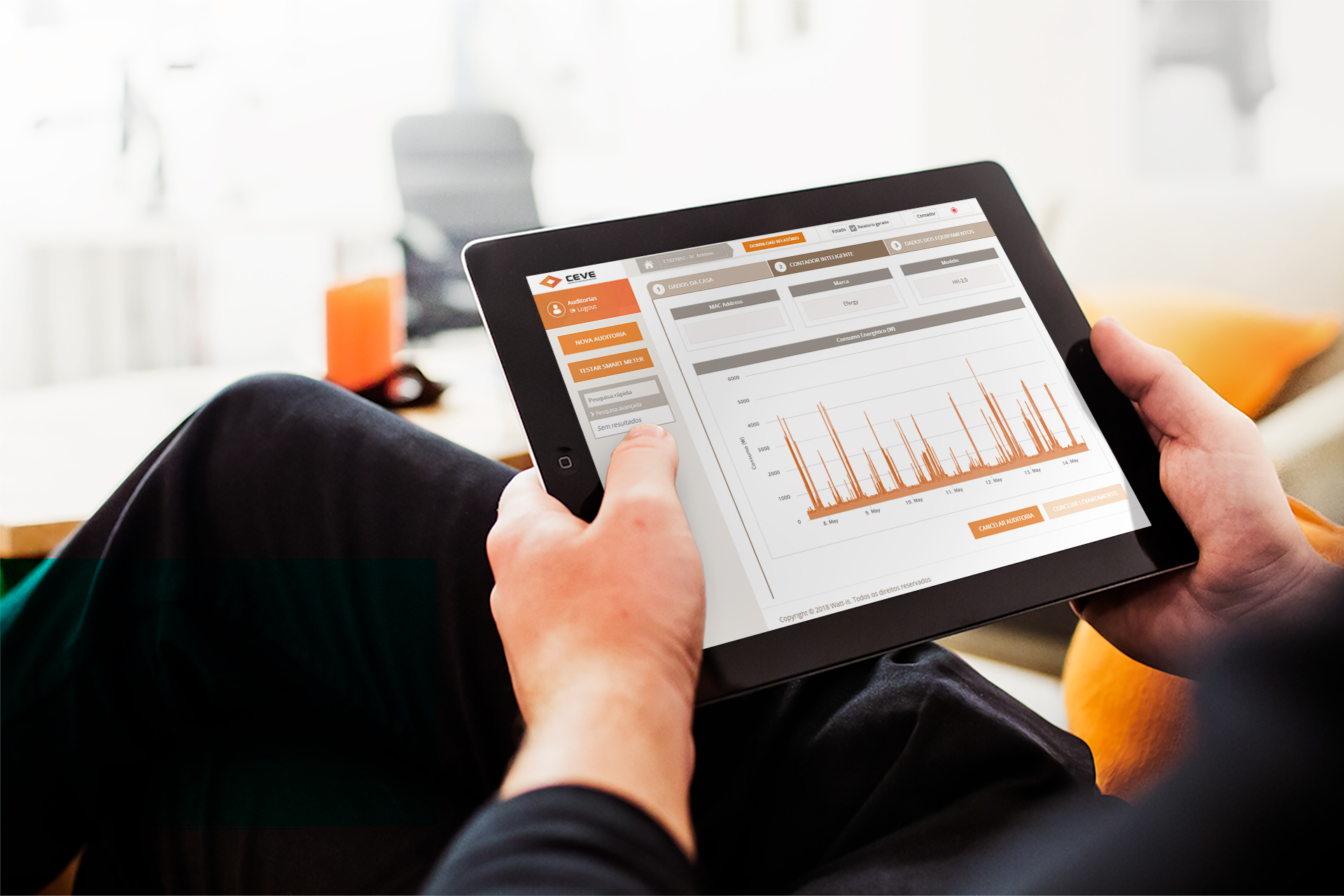 Detailed remote energy audit reports solution